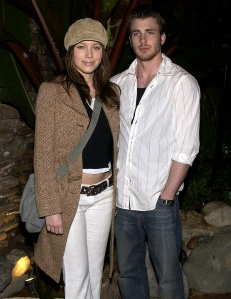 Jessica Biel & Chris Evans