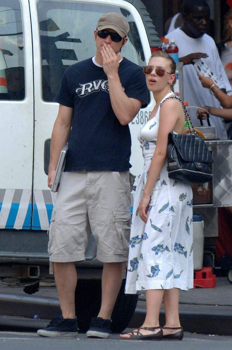 Scarlett Johansson & Josh Hartnett,