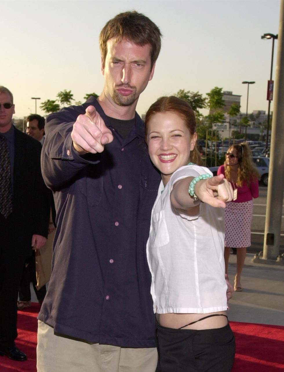 Tom Green & Drew Barrymore