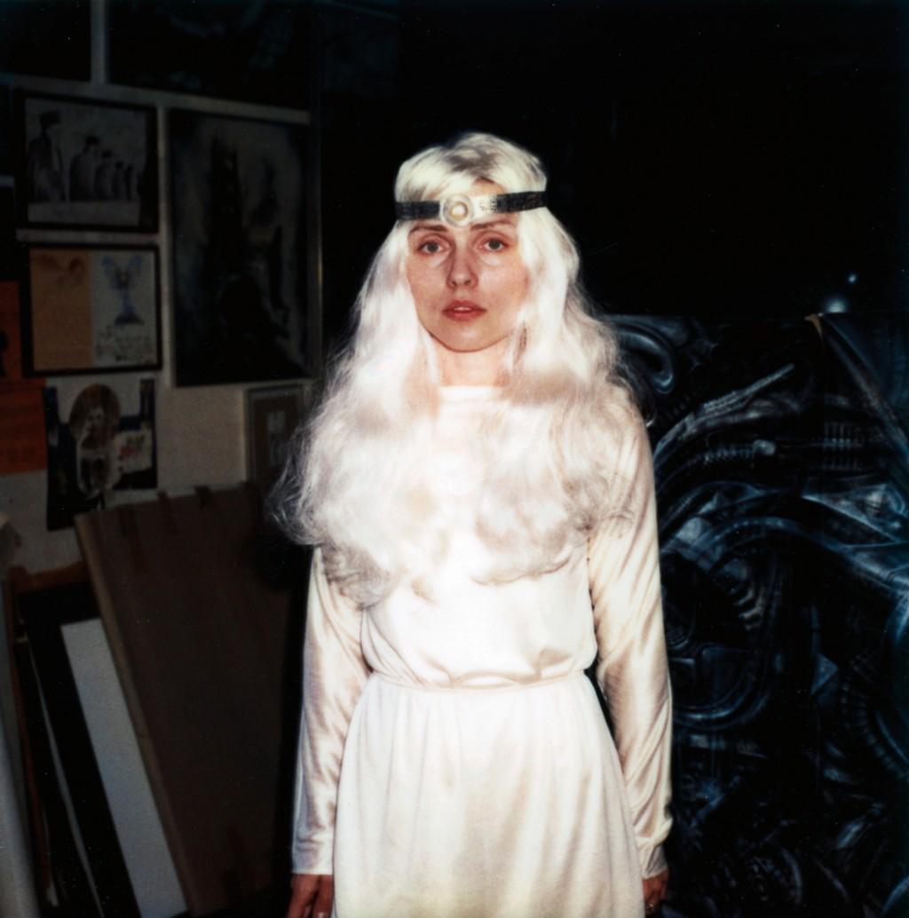 "Headband / dizajnirano za debitantni solo album Debbie Harry ""Backfired"", 1981."