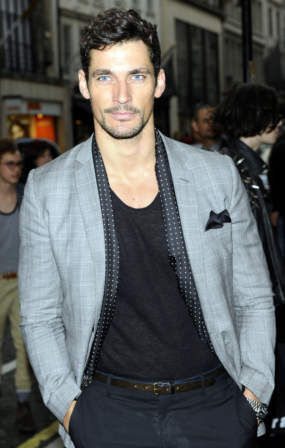 david_gandy_gray_blazer_napkin