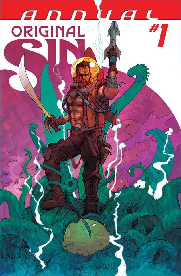 Original Sin Annual #1 cover by JULIAN TOTINO TEDESCO
