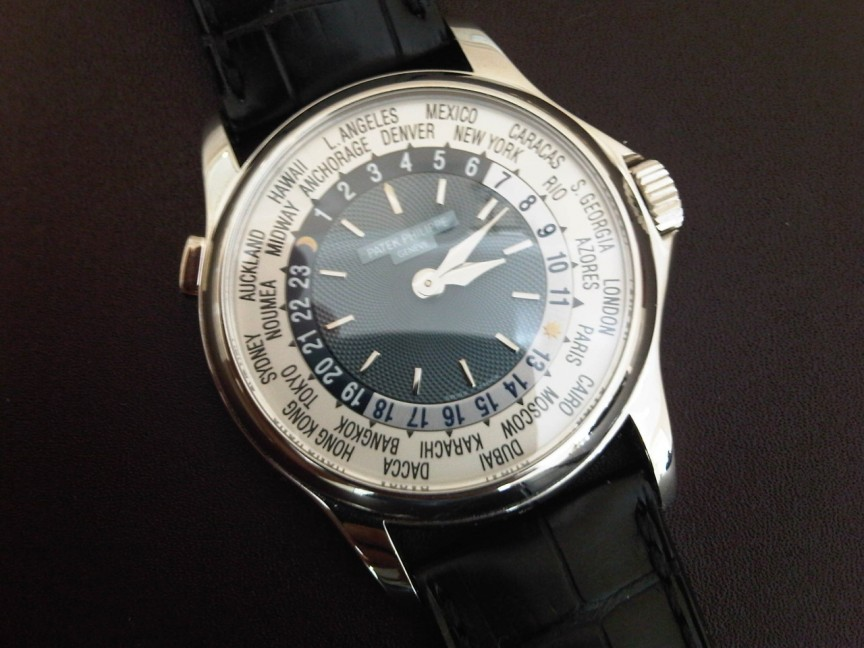 7. Patek Philippe World Time