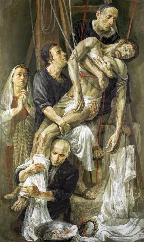 Skidanje Isusa s križa