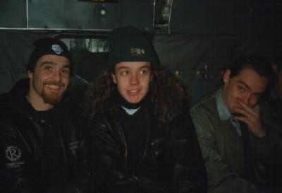 Andy Veasey, Chris Dale i Alex Dickson na Herculesu