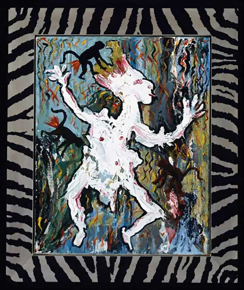 David-Bowie-paintings-Ancestor-I