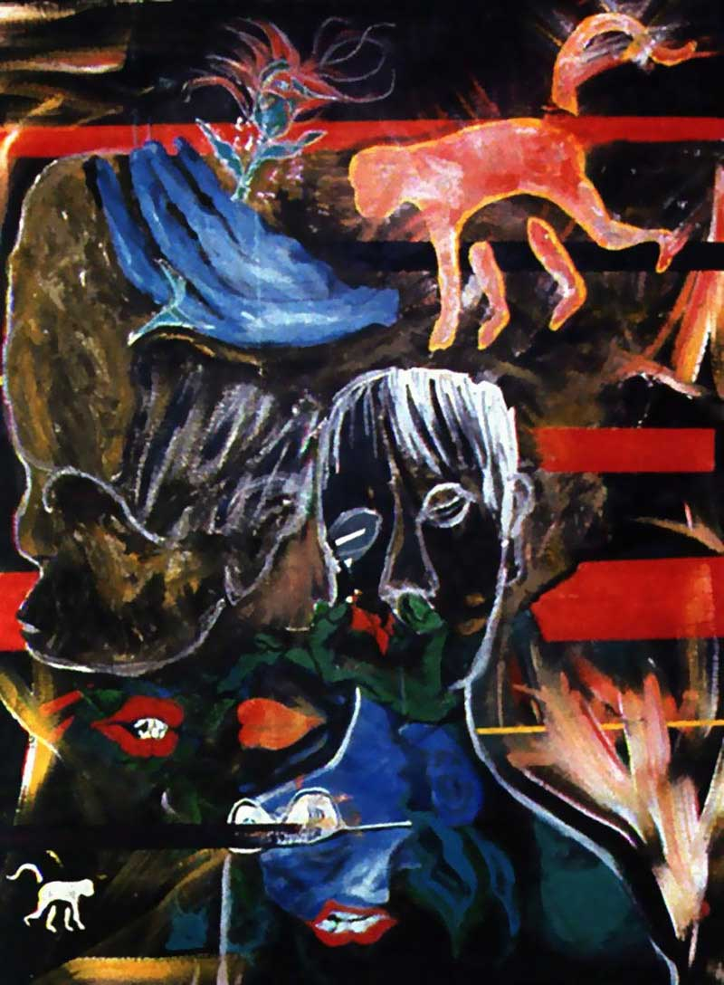 David-Bowie-paintings-Evol-for-the-Missing-1996
