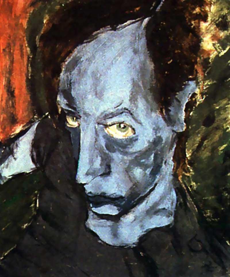 David-Bowie-paintings-portrait-of-JO-1976