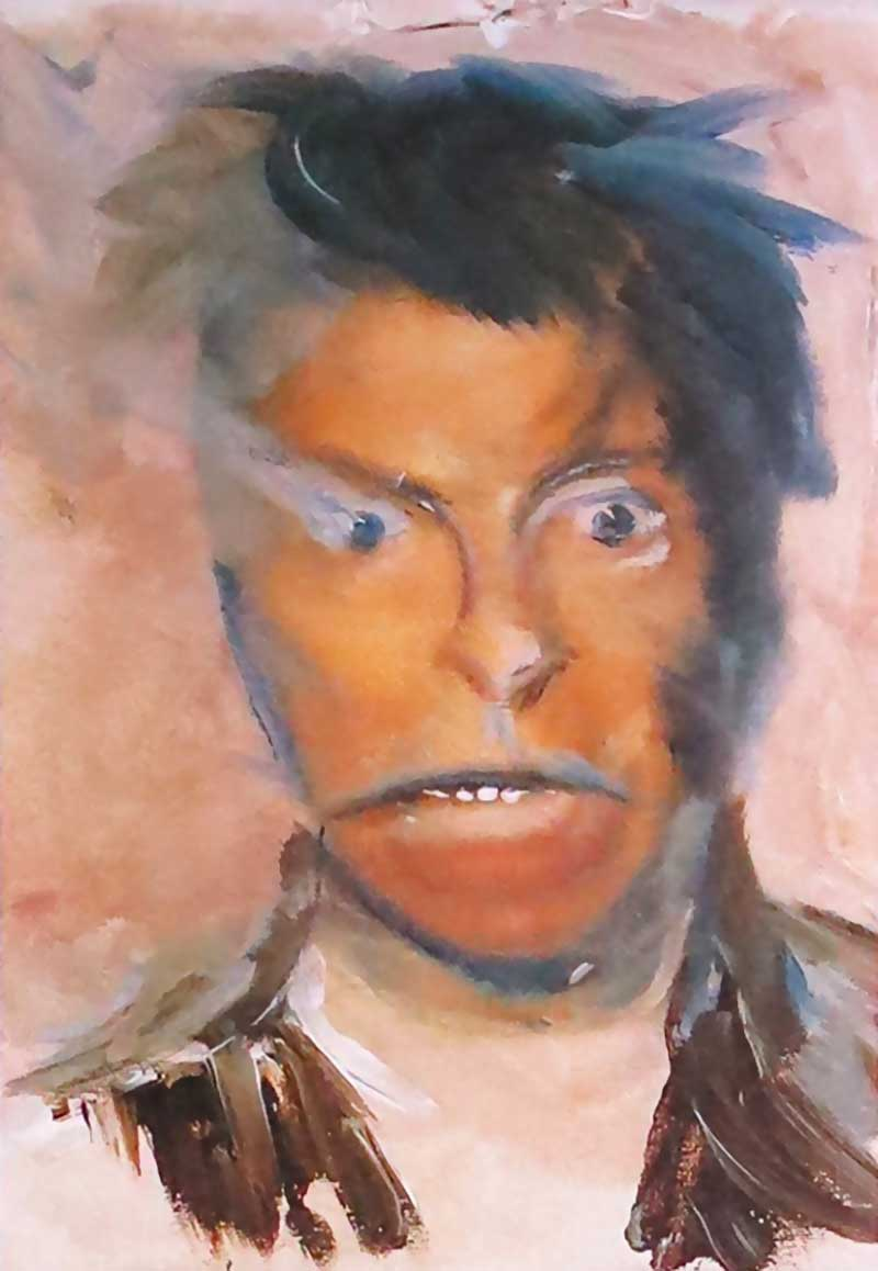 David-Bowie-paintings-selfportrait4