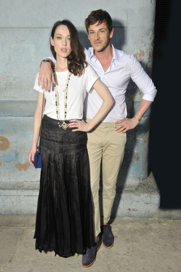 Cruise 2016-17 collection_Photocall pictures by Stephane Feugere_Gaspard ULLIEL & Gaelle PIETRI