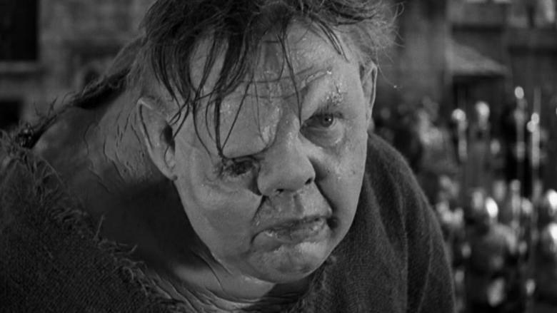 Charles Laughton kao Kvazimodu u filmu The Hunchback of Notre Dame 1939