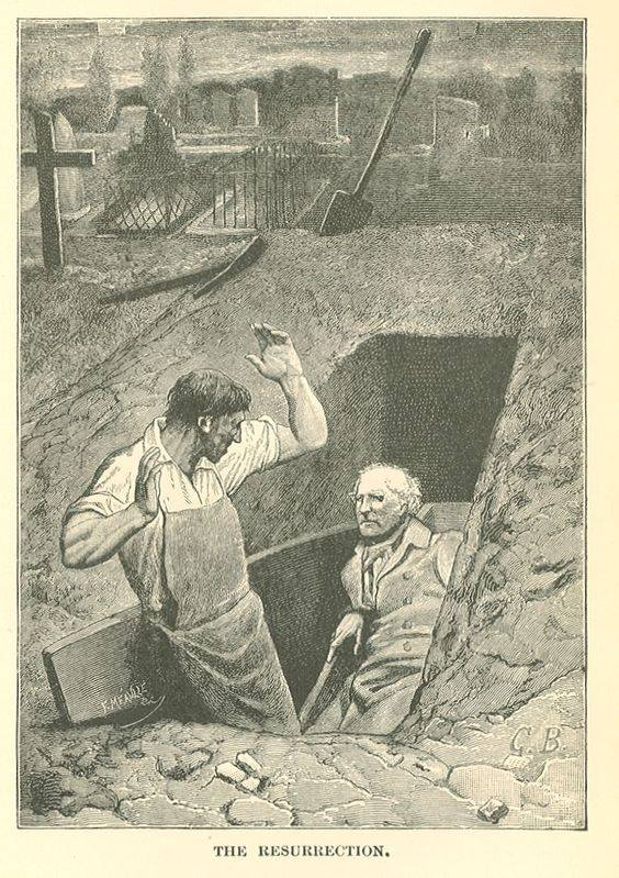 'Jadnici', ilustracija iz 1887.