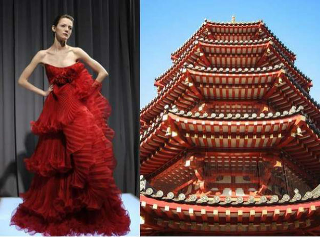 Pagoda, Ready-to-Wear, Marchesa, Kawasaki Daishi, Japan, 2008.