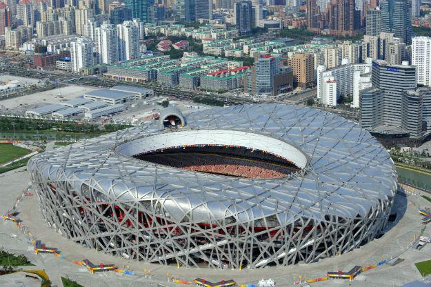 Stadion Ptičje gnijezdo, Peking, Kina, 2008.