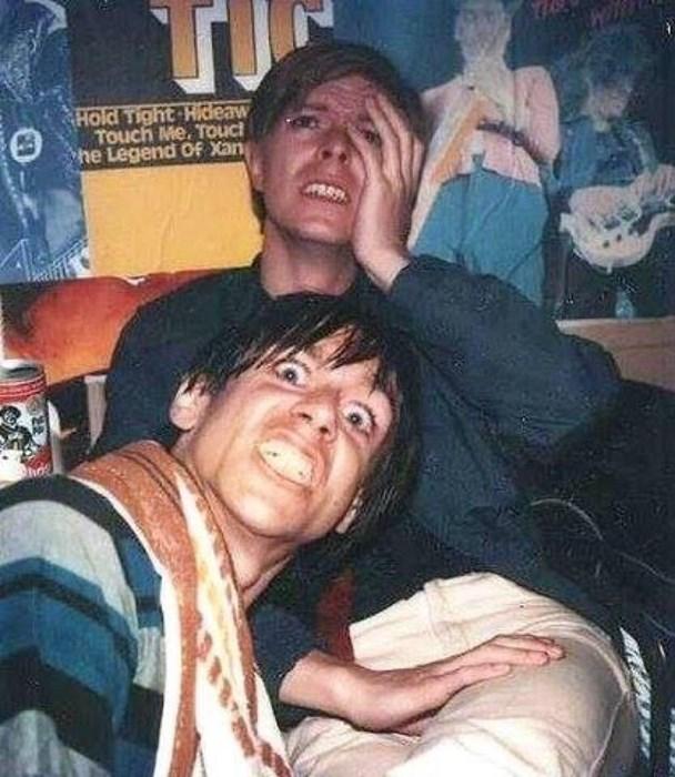 David Bowie & Iggy Pop, Zapadni Berlin 1979 / nepoznat fotograf