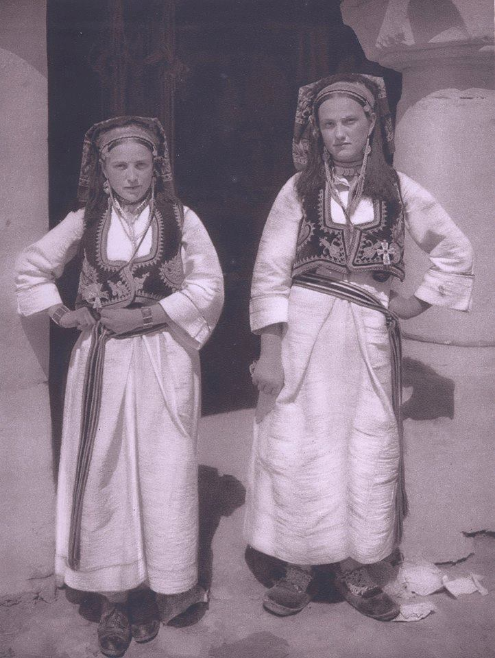 Girls in Travnik, Bosnia