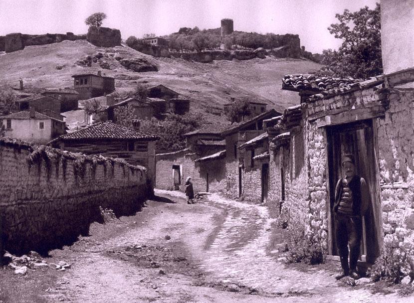 Street in Ohrid, Macedonia