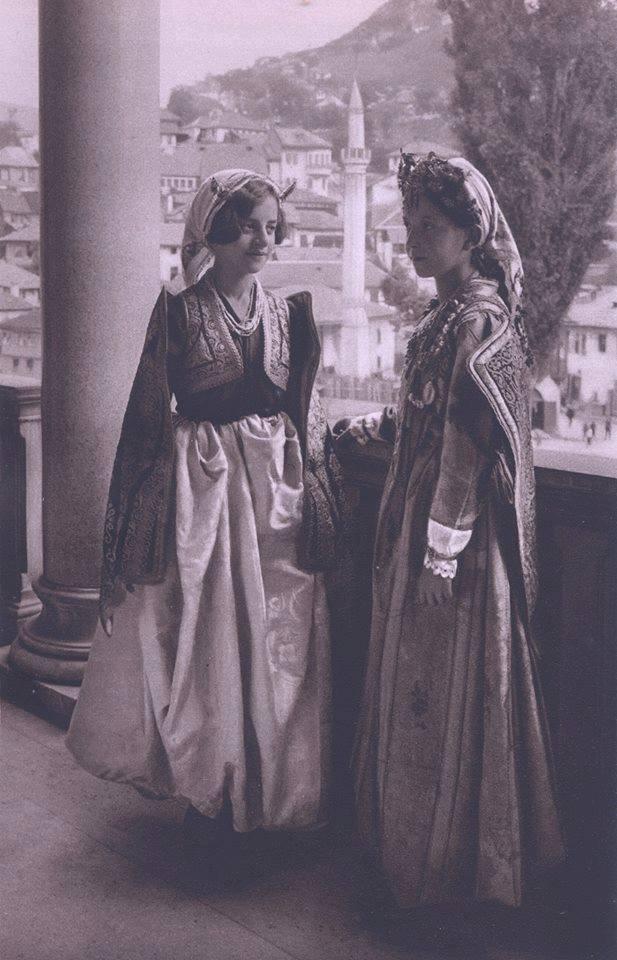 Two girls in Sarajevo