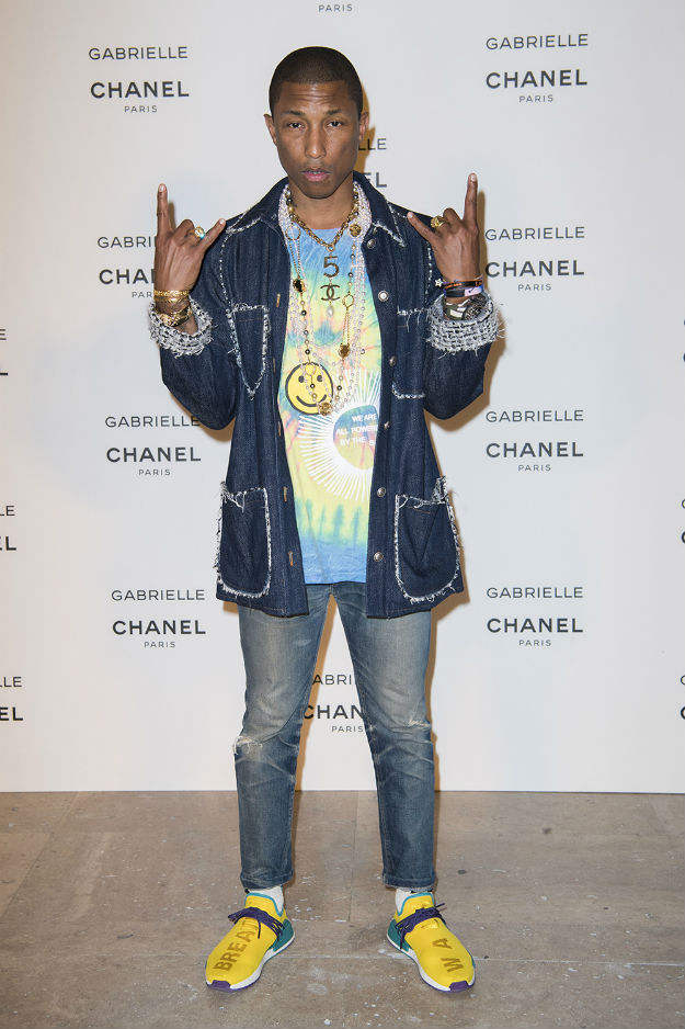 GABRIELLE CHANEL FRAGRANCE LAUNCH AT PALAIS DE TOKYO JULY 4 2017_Pharrell WILLIAMS_LD