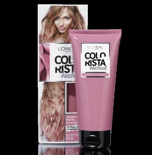 COLORISTA Washouts inspirativna paleta od 11 nijansi za jedinstven izgled koji ce trajati i do par nedjelja. Lako mijenjajte boje, igrajte se, a za intenzivniji rezultat posebno na smeđoj kosi potrebno je i da posvijetlite kosu sa COLORISTA Effects setovima. Ako ste nestrpljivi da promijenite boju tu je i COLORISTA Fader šampon koji će pomoći da vam se brže ispere boja i omogući da se prepustite novim COLORISTA avanturama.