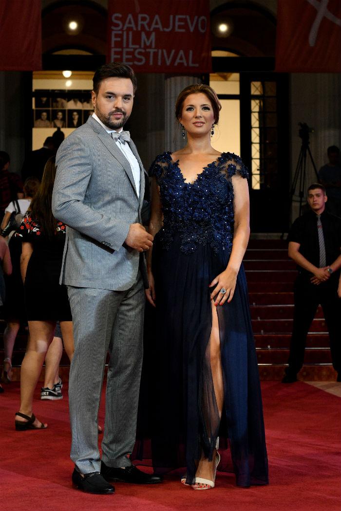 Maja Čengić / haljina Jasna Hadžiomerović-Bekrić