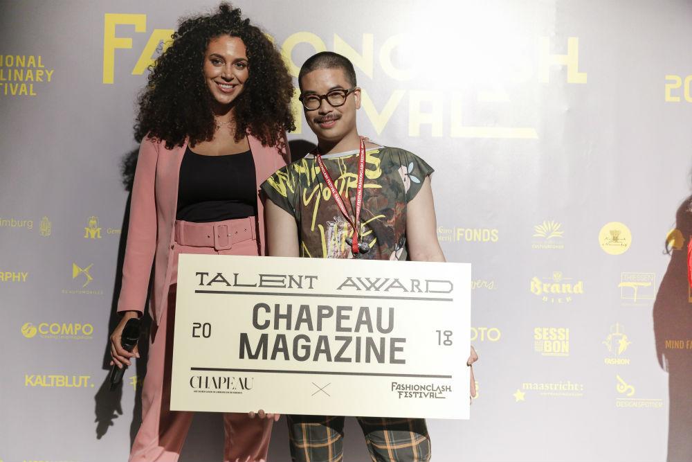 Nathan Klein / Chapeau Magazine award