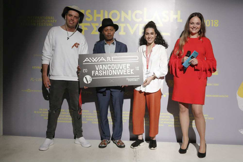Steven Vanderyt i Rita Sa / Vancouver Fashion Week Award