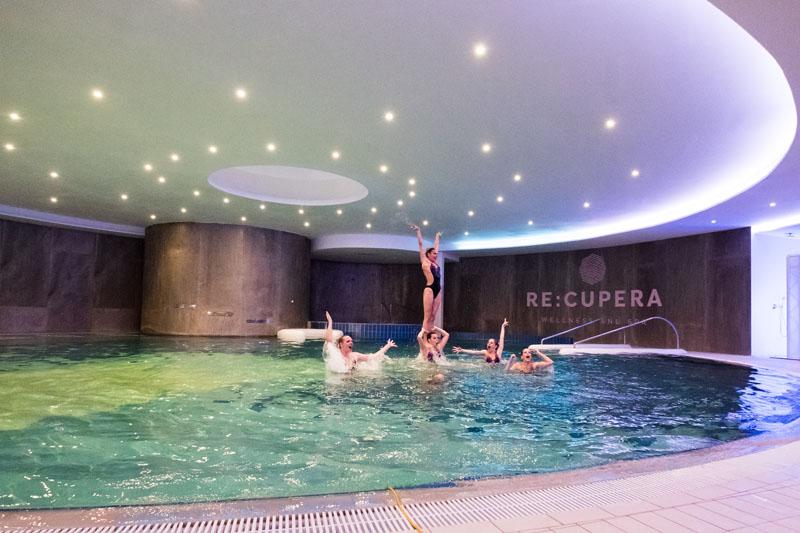 plivačice sinkro kluba Mladost