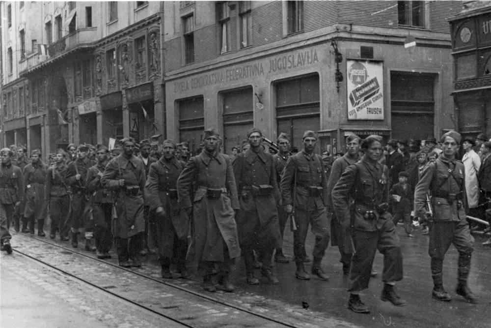 Partizani ulaze u Sarajevo