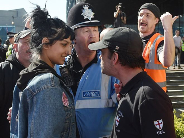 Saffiyah Khan, Birmingham, England – 2017 (Photo Joe Giddens)