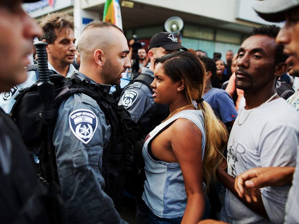 Unidentified Ethiopian-Israeli woman, Tel Aviv – May 2016