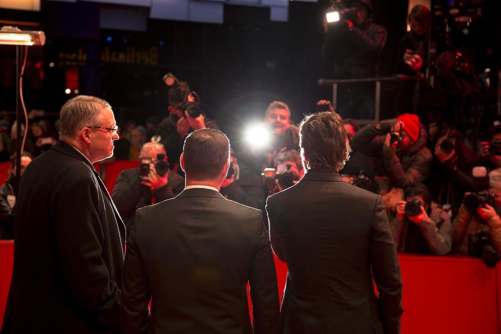 Adam McKay, Kevin J. Messick. i Christian Bale / foto_Senka Ćatić / Spektroom / FBL