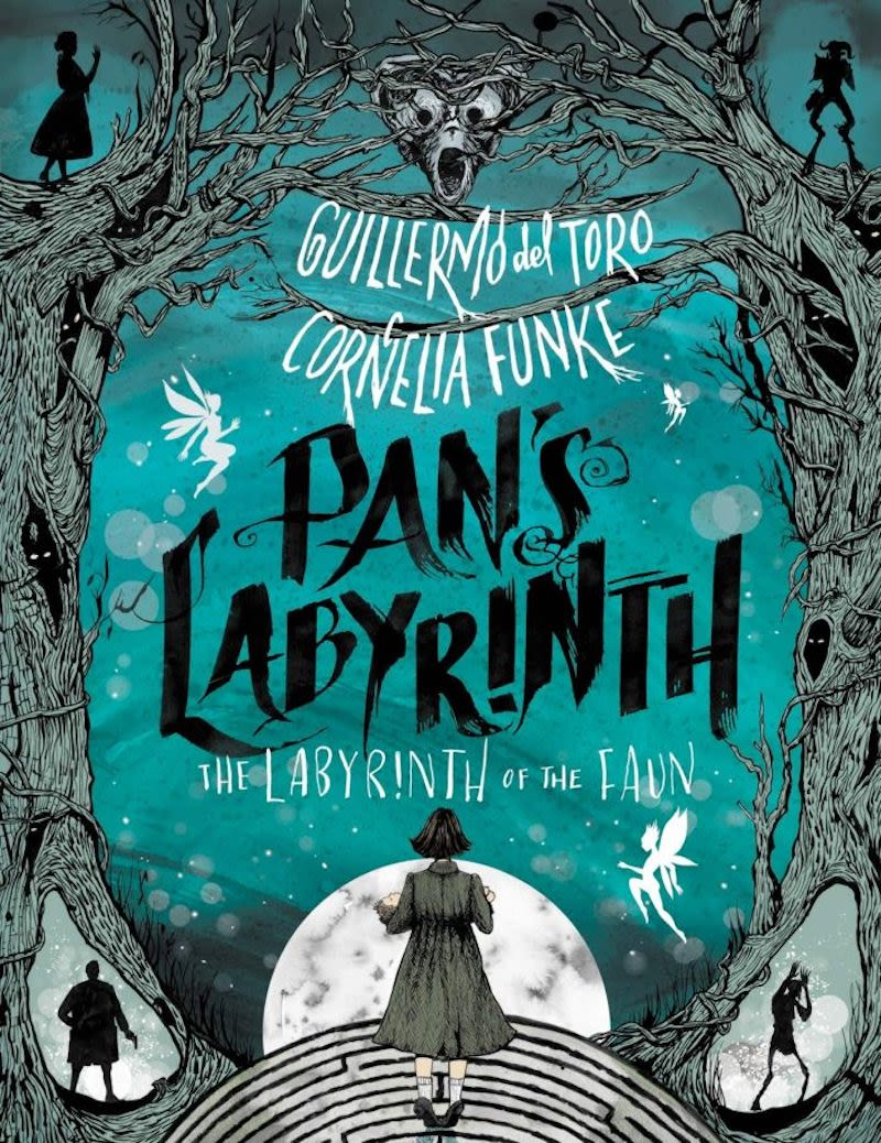 The cover of Pan's Labyrinth: The Labyrinth of the Faun. Image: Katherine Tegen Books