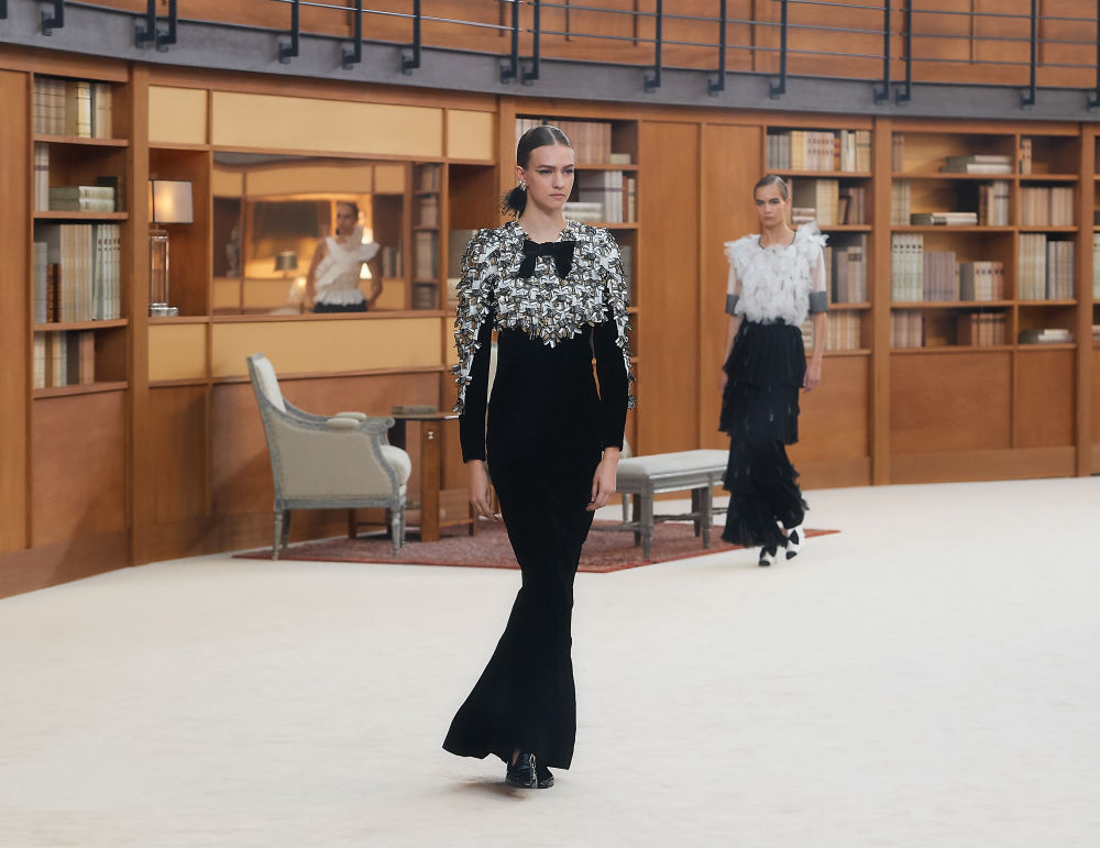 CHANEL FW 2019 - 2020 HAUTE COUTURE collection (41)