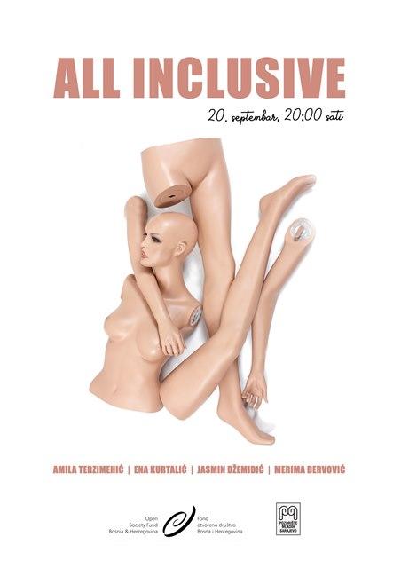 Plakat - All Inclusive