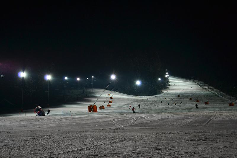 Noćno skijanje / Kranjska Gora