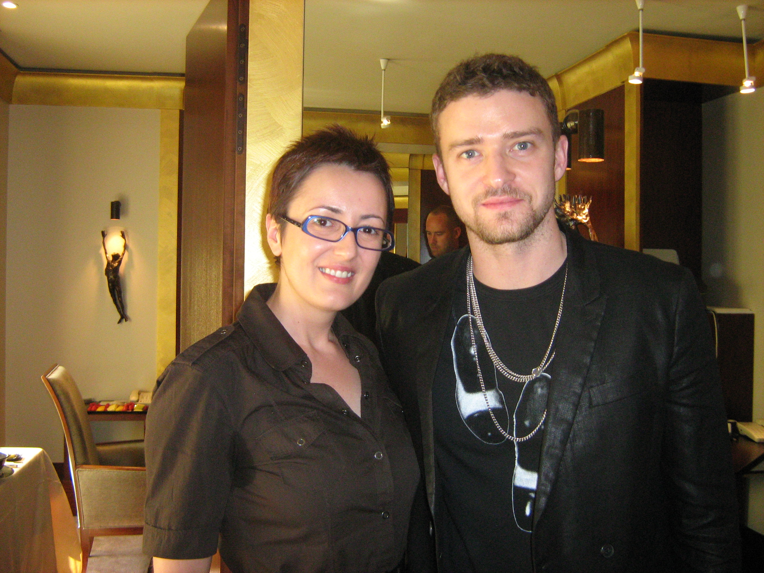 Mersiha i Justin Timberlake