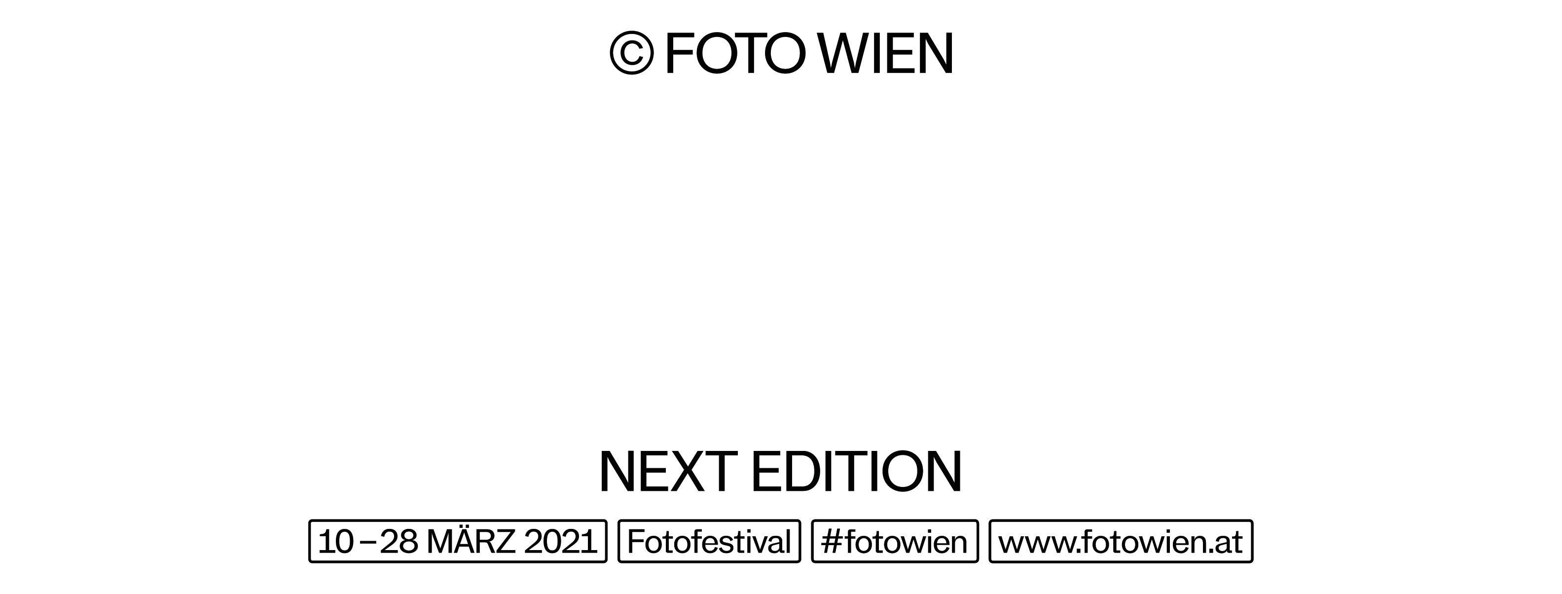 FOTO WIEN 2021