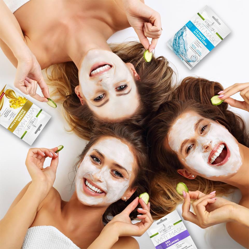 maske za lice kozmetika afrodita