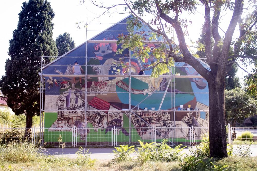 9. streets art festival mostar