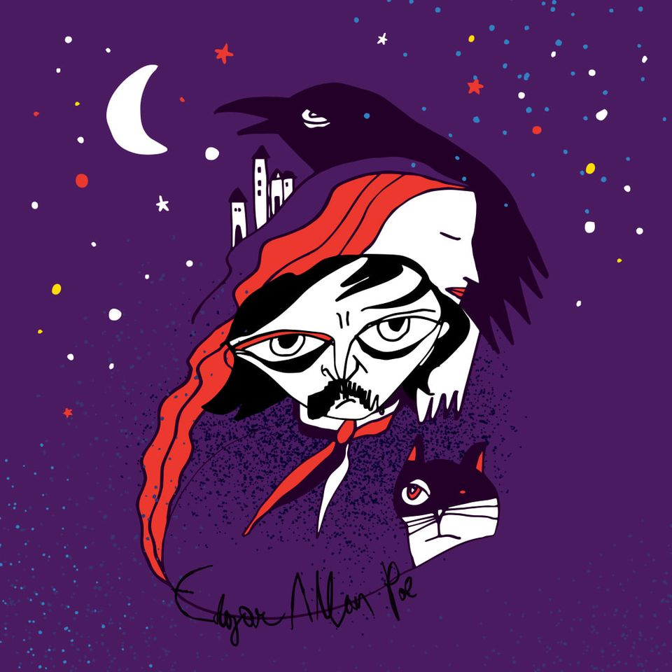 Nina Edgar Allan Poe 1